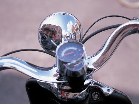 Motorbike Photographic Print