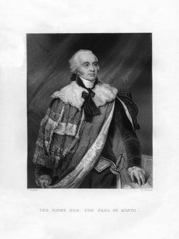 Gilbert Elliot Murray-Kynynmound, 1st Earl of Minto, 19th Century Giclee Print