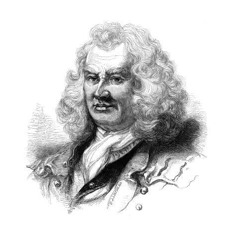 Portrait of Captain Thomas Coram, 18th Century Giclee Print