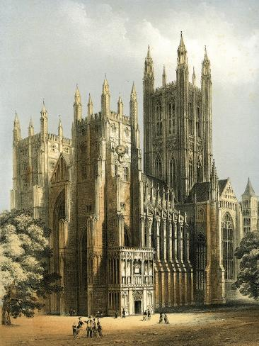 Canterbury Cathedral, Kent, C1870 Giclee Print