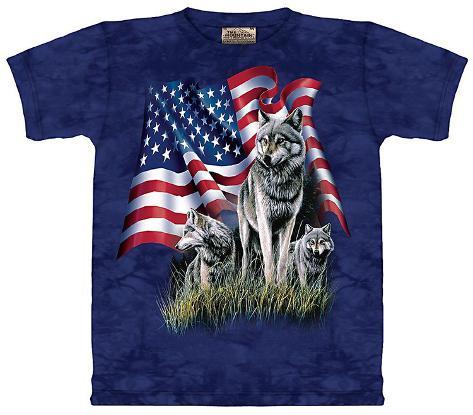 Wolf Flag T-Shirt