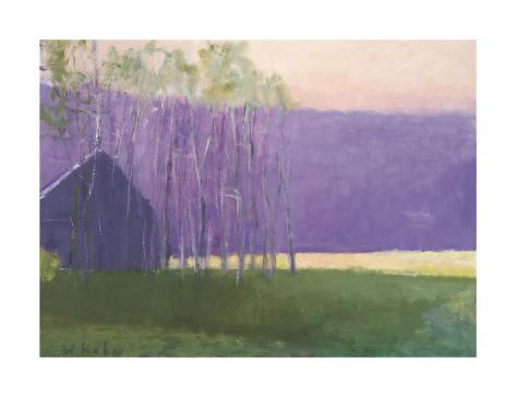 Barn in a Soft Light, 2002 Giclee Print