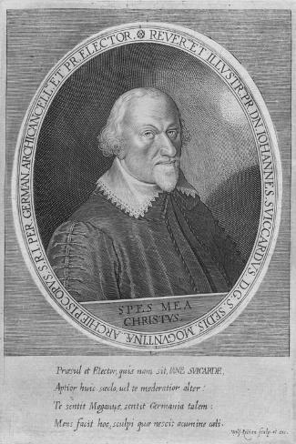 Johann Schweikhard von Kronberg (1553-1626), Archbishop-Elector of Mainz from 1604 to 1626, c1626 Giclee Print