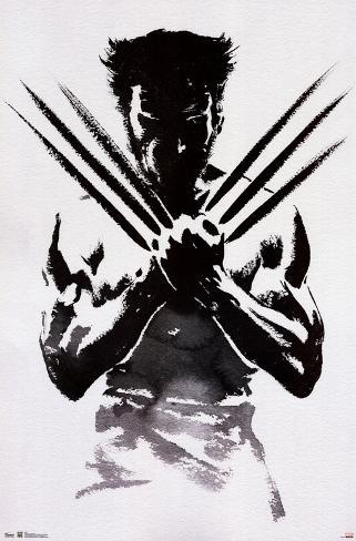 Wolverine One Sheet Movie Poster Póster