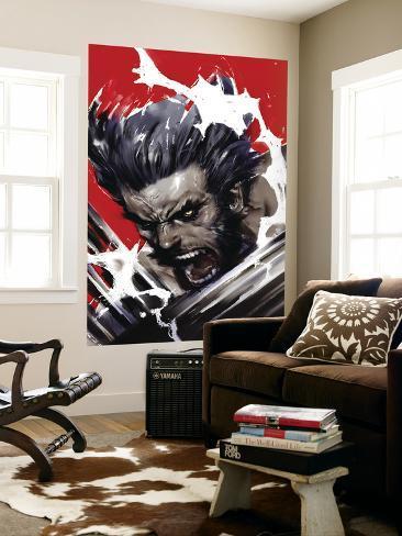 Wolverine: Soultaker No.1 Cover: Wolverine Laminated Oversized Art