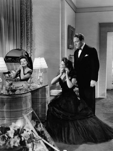 Woman Of The Year, Katharine Hepburn, Spencer Tracy, 1942 Photo