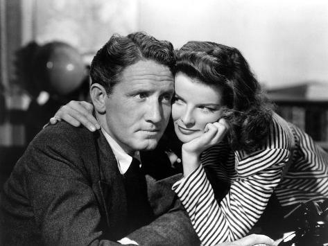 Woman of the Year, Spencer Tracy, Katharine Hepburn, 1942 Photo