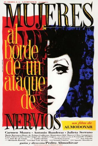 Women on the Verge of a Nervous Breakdown - Spanish Style Poster