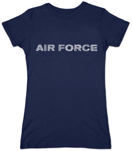 Women's: Air Force Womens T-Shirts
