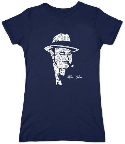 Women's: Al Capone - Original Gangster Womens T-Shirts