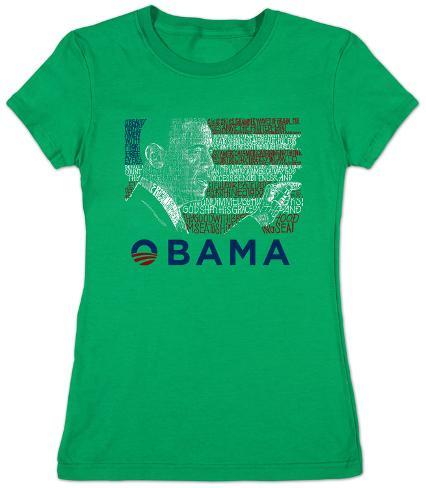 Women's: Barack Obama Womens T-Shirts