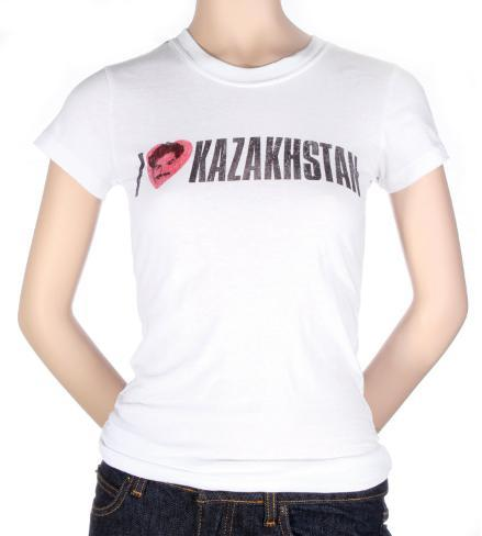 Women's: Borat - I Heart Kazakhstan Womens T-Shirts