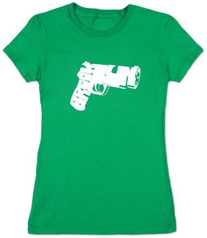 Women's: Brookyn Gun Womens T-Shirts