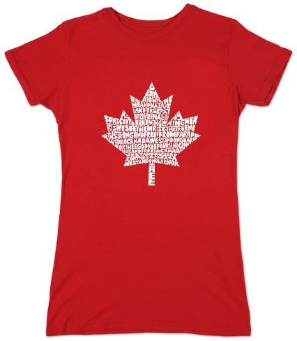 Women's: Canada National Anthem Womens T-Shirts