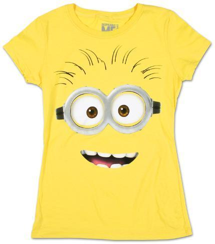 Women's: Despicable Me 2 - Big Face Camisetas de mujer