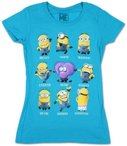 Women's: Despicable Me- Minion Talk Womens T-Shirts