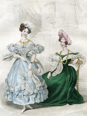 Women's Fashion, C1830S Giclee Print