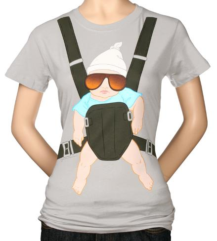 Women's: Hangover -  Baby Bjorn Womens T-Shirts