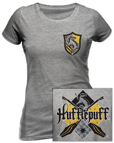Women's: Harry Potter - House Hufflepuff T-shirt da donna