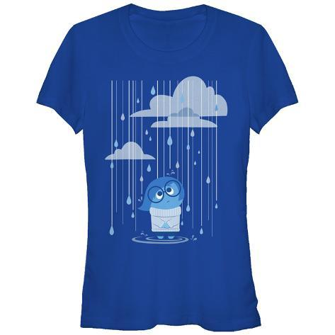 Women's: Inside Out- Sad Rainstorm Womens T-Shirts