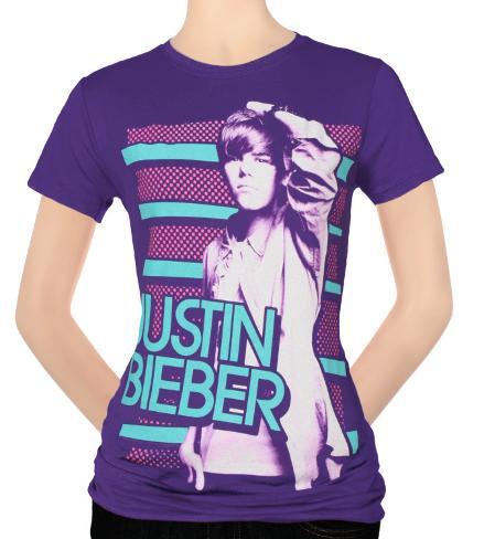 Women's: Justin Bieber -Favorite Color T-shirtar för damer