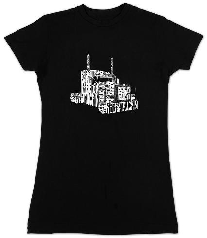 Women's: Keep on Truckin Womens T-Shirts