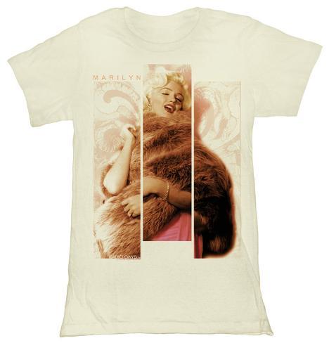 Women's: Marilyn Monroe - Three Piece Of Face T-shirt da donna