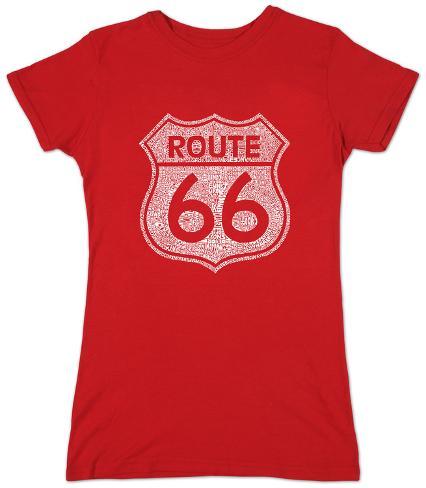 Women's: Route 66 Womens T-Shirts