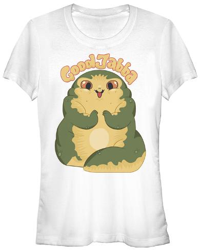 Women's: Star Wars- Cute Jabba Womens T-Shirts