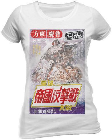 Women's: Star Wars - Japanese Poster Womens T-Shirts