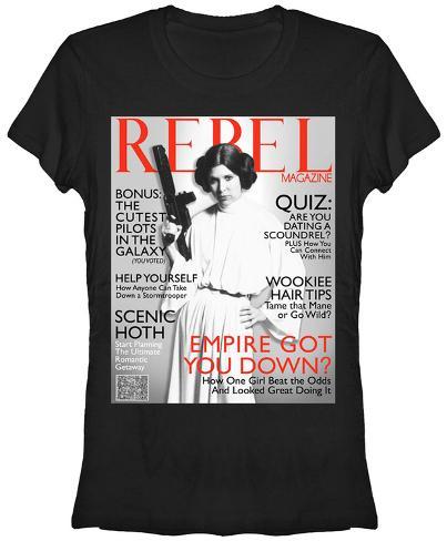 Women's: Star Wars- Rebel Idol Womens T-Shirts