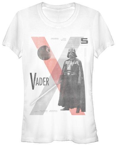 Women's: Star Wars- Vader Index Womens T-Shirts