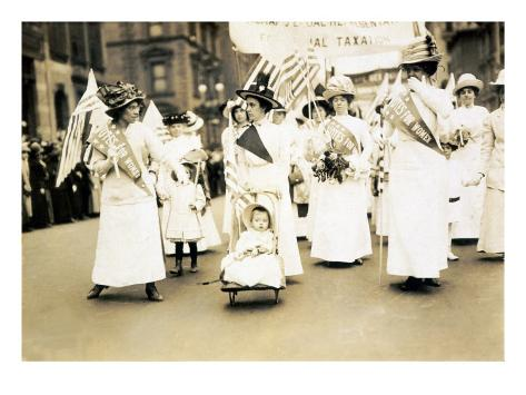 Women's Suffrage Parade, New York City, May 6, 1912 Photo