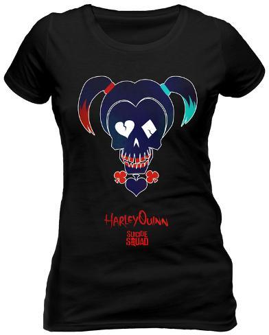 Women's: Suicide Squad - Harley Sugar Skull Womens T-Shirts
