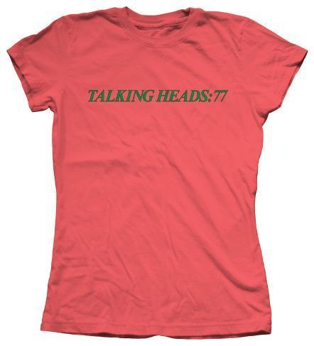 Women's: Talking Heads - 77 Womens T-Shirts