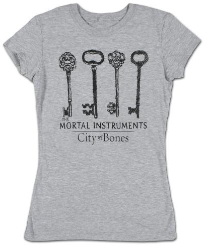 Women's: The Mortal Instruments - Keys Womens T-Shirts