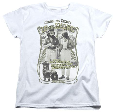 Womens: Cheech & Chong Up In Smoke - Labrador Womens T-Shirts