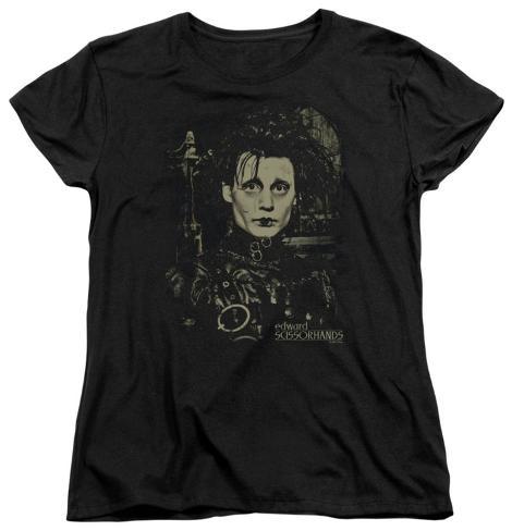 Womens: Edward Scissorhands - Edward Womens T-Shirts