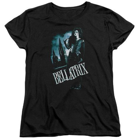 Womens: Harry Potter- Bellatrix In Profile Womens T-Shirts