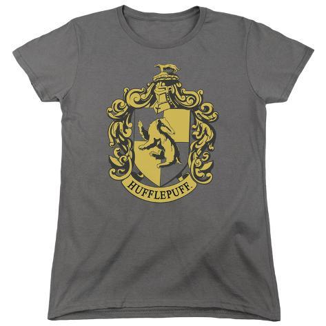 Womens: Harry Potter- Hufflepuff Crest Womens T-Shirts