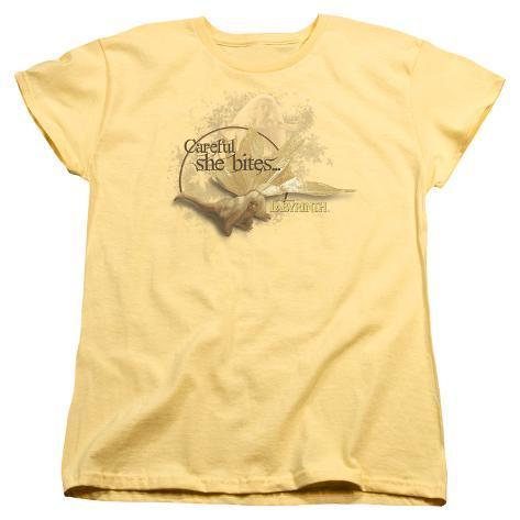 Womens: Labyrinth - She Bites Womens T-Shirts