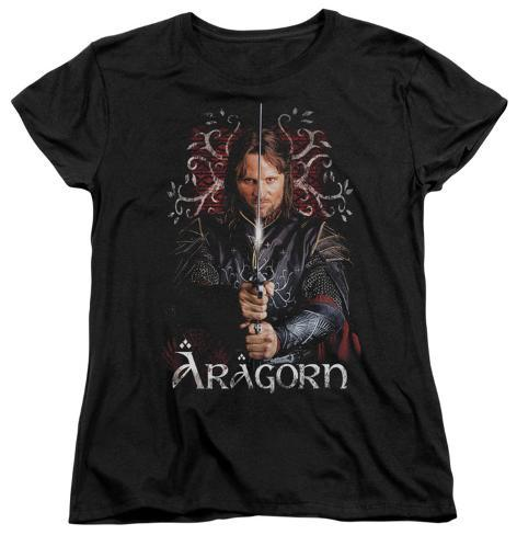 Womens: Lord Of The Rings - Aragorn Womens T-Shirts