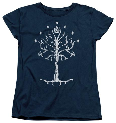 Womens: Lord Of The Rings - Tree Of Gondor Womens T-Shirts
