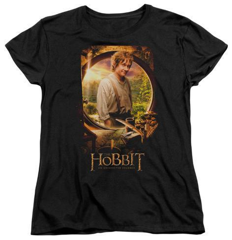 Womens: The Hobbit: An Unexpected Jouney - Bilbo Poster Womens T-Shirts