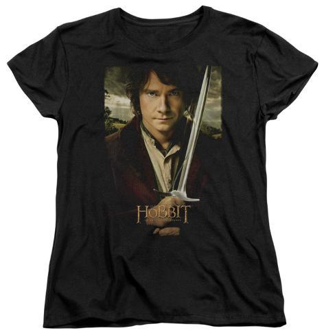 Womens: The Hobbit: An Unexpected Journey - Baggins Poster Womens T-Shirts