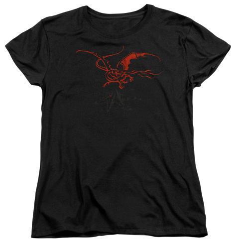 Womens: The Hobbit - Smaug Womens T-Shirts