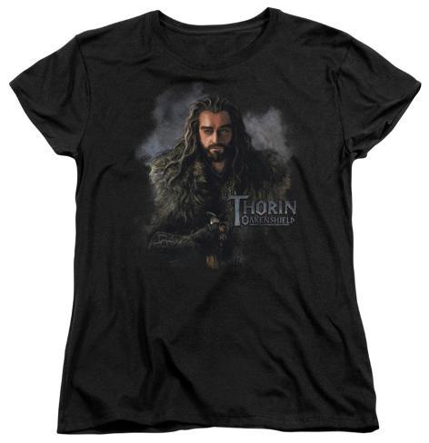 Womens: The Hobbit - Thorin Oakenshield Womens T-Shirts