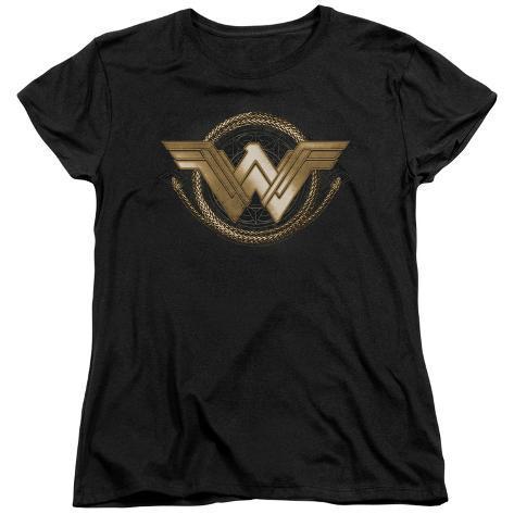 Womens: Wonder Woman Movie - Lasso Logo Womens T-Shirts