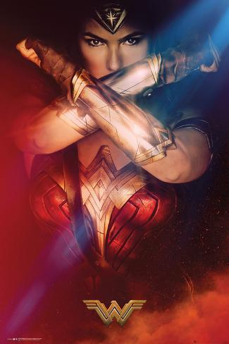 Wonder Woman- Cross Póster