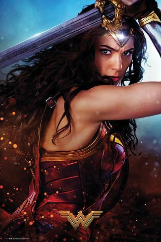 Wonder Woman- Defend Póster